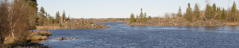 Winnipeg River at Pinawa